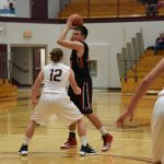 Sharp Shooting Strong Leads Falcons Over Jimtown