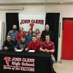 Soccer Standout Kegan Shiflett and Former Grad Ian Stull Sign with IU East