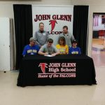 Grant Borsch Signs with North Park University