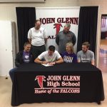 Matt Strong Signs with Olivet Nazarene Universtiy