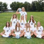 Sarber Drives Girls Soccer to Win Over LaVille on Senior Night