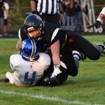 Football Loses in Hard Fought Game vs Marian