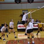 Volleyball Rolls Past Clay
