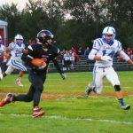 Football Beats LaVille on Homecoming Night