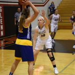 Lady Falcons Pick Up NIC Win in Victory Over Riley