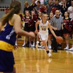 Lady Falcons Start Conference Play with Win Over Adams