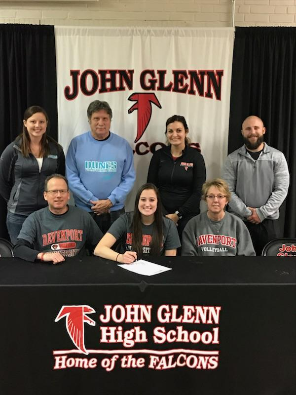 Riley Groves Signs with Davenport University!!