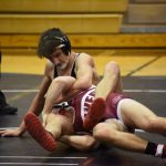 Falcons Show Grit at NIC Wrestling Tourney