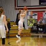 Lady Falcons Cruise by Clay for NIC Win