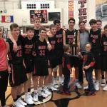 Boys Varsity Basketball falls to Jimtown 46 – 44