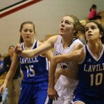 Girls Junior Varsity Basketball beats Laville Jr/sr 41 – 17