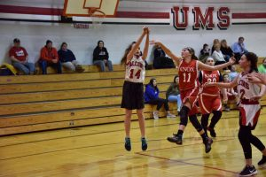 Urey 7th Grade Girls Basketball
