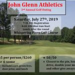 Athletic Department Golf Outing – July 27th