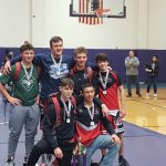 JG Varsity Wrestlers finishes in 1st Place at South Bend Clay Super Dual