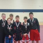Urey Middle School Wrestling finishes 5th place at Jag Classic with a record of 3-2