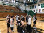 Boys Varsity Basketball beats Sectional Semi Finals 56 – 29