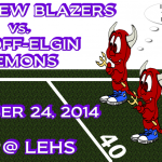 Blazer Football at Lugoff-Elgin Friday, Oct 24