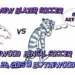 Blazer Boys Soccer Plays at Blythewood Today (Thursday)