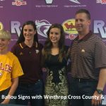 Blazer Kelsey Ballou Signs with Winthrop
