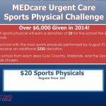 Annual Sports Physical Challenge – Earn Money For Your School | MEDcare Urgent Care