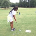 Blazer Girls Golf Team Earns Win over Lugoff-Elgin