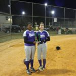 Blazers Softball Sweeps Lower Richland