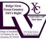 Blazer Cross Country hosts CiCi's Night