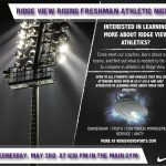 Rising Freshman Athletic Information Night Being Held May 3 at 6:30 PM