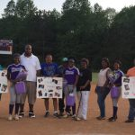 Blazer Softball Celebrates Last Home Game