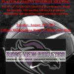 Girls Soccer Meeting Tomorrow!