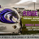 $5 Football Tickets Available Tomorrow at @RVHS