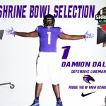 Damion Daley Selected for 2017 Shrine Bowl
