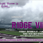 On Campus Varsity Football Game This Friday
