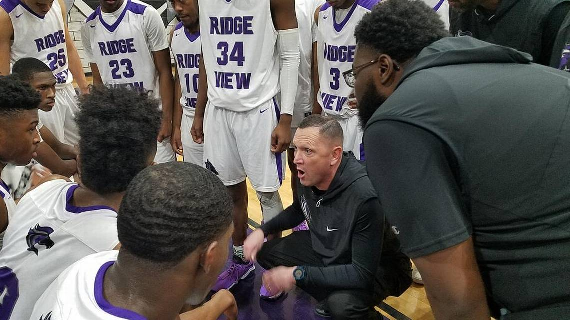 .@RidgeViewHoops Hosts Midland Valley on Wednesday