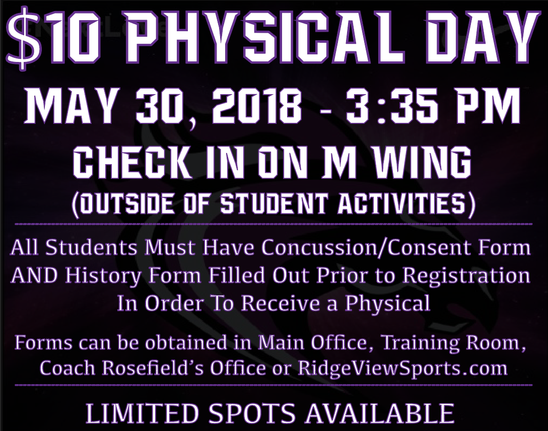 $10 Physical Day Coming Up on May 30th