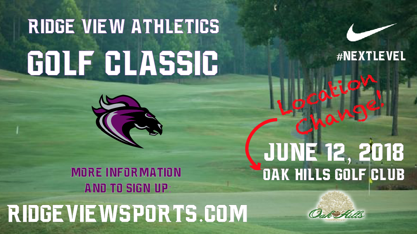 Ridge View Golf Classic Returns June 12 – NOW at Oak Hills Golf Club!