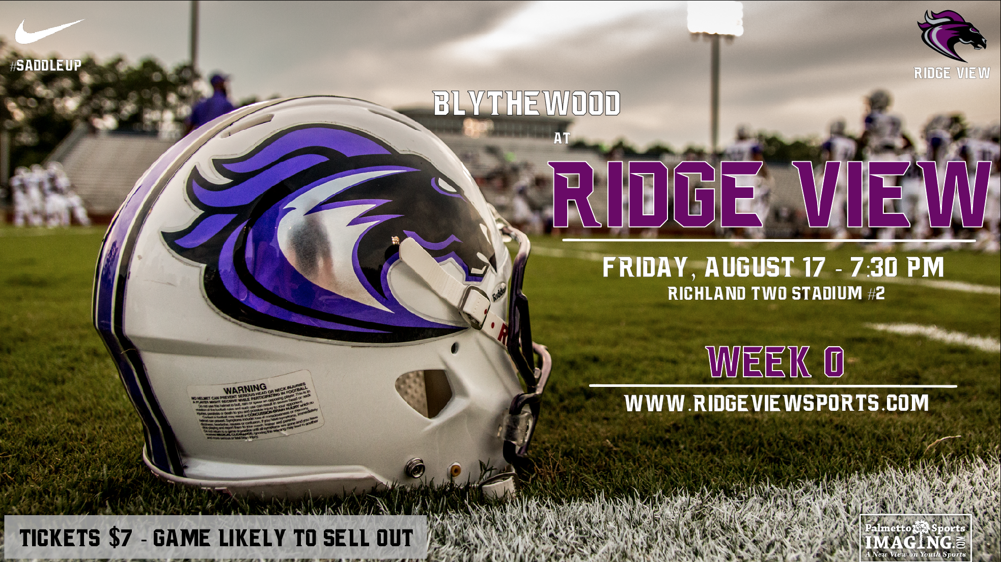 Football Season is Here!  @RidgeViewF_Ball Hosts @BHSBengalFB Friday Night!