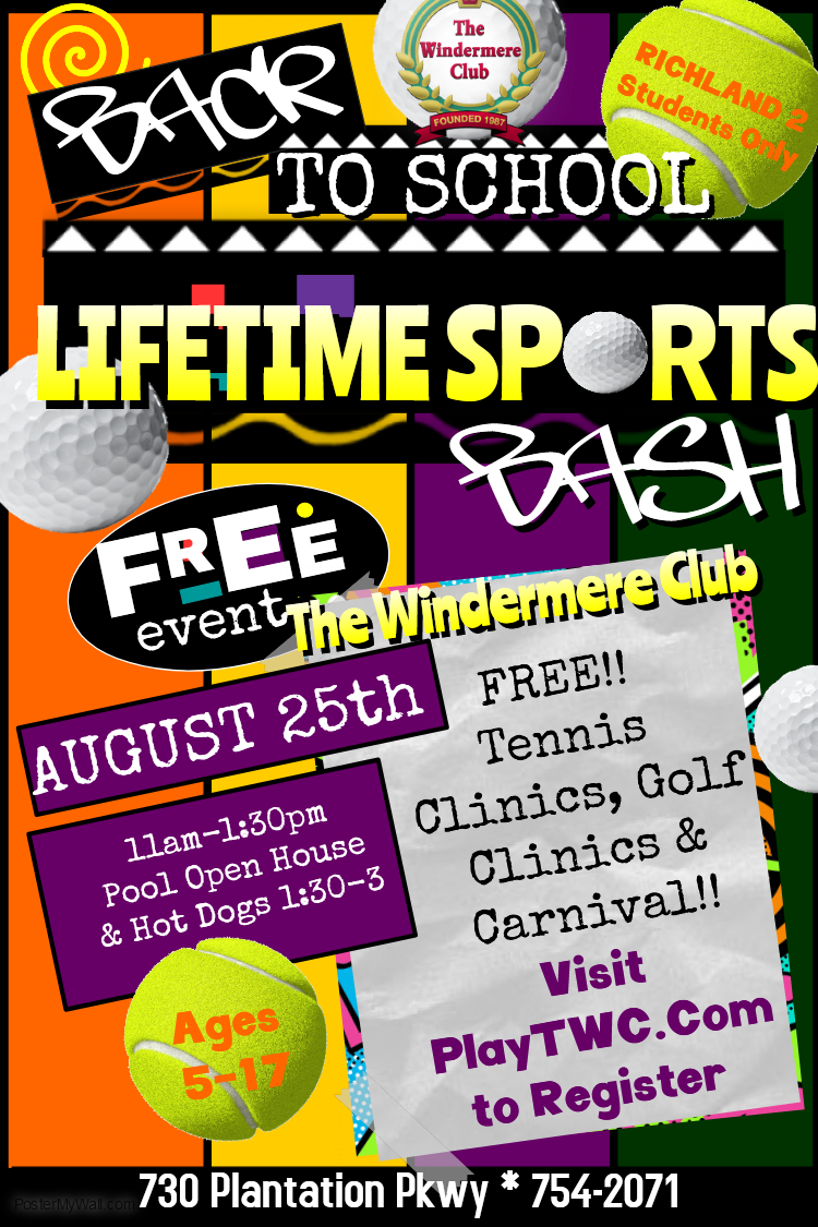 Windermere Hosting FREE Lessons For Back to School Bash!