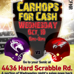 Sonic Spirit Night Wednesday Night!