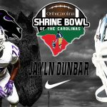 Senior Jalyn Dunbar Selected for 2018 Shrine Bowl