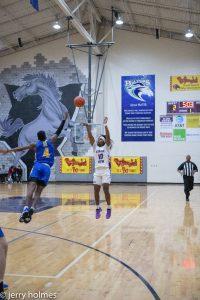 RV Boys Basketball Round 3 in Playoffs against Travelers Rest