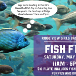 Girls Basketball Fish Fry This Saturday!
