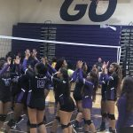 Blazers Varsity Volleyball beats W J Keenan 3 – 0