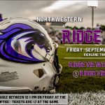 JV Football Home Thursday – Varsity Home (District Stadium #2) Friday – Ticket Presale Information
