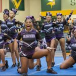Competitive Cheer Takes Mat at 3:33pm Saturday for @SCHSL State Title