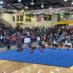Cheer Competes in AAAA Upper State Qualifier Tonight (11/12/19)