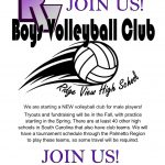 Ridge View Introduces Boys Volleyball!