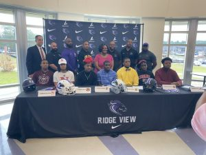 Ridge View's National Signing Day!