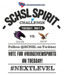 The @SCHSL Twitter Challenge Returns Tomorrow.  Vote for @RidgeViewSports!