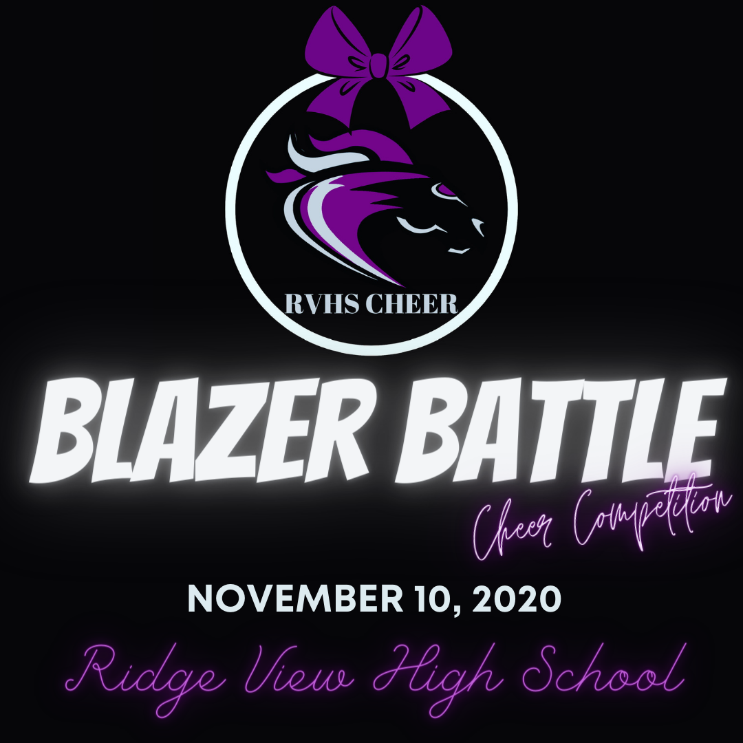Blazer Battle Cheer Competition – November 10, 2020 at @RVHS